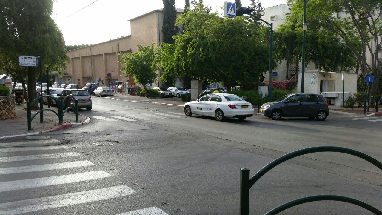 צומת אברהם קרן - בן גוריון. צילום אלי צ'יפרוט