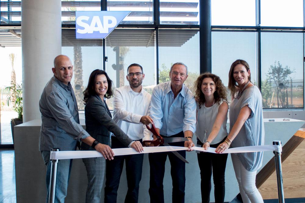 חנוכת מטה SAP ברעננה. צילום אורן אגמי