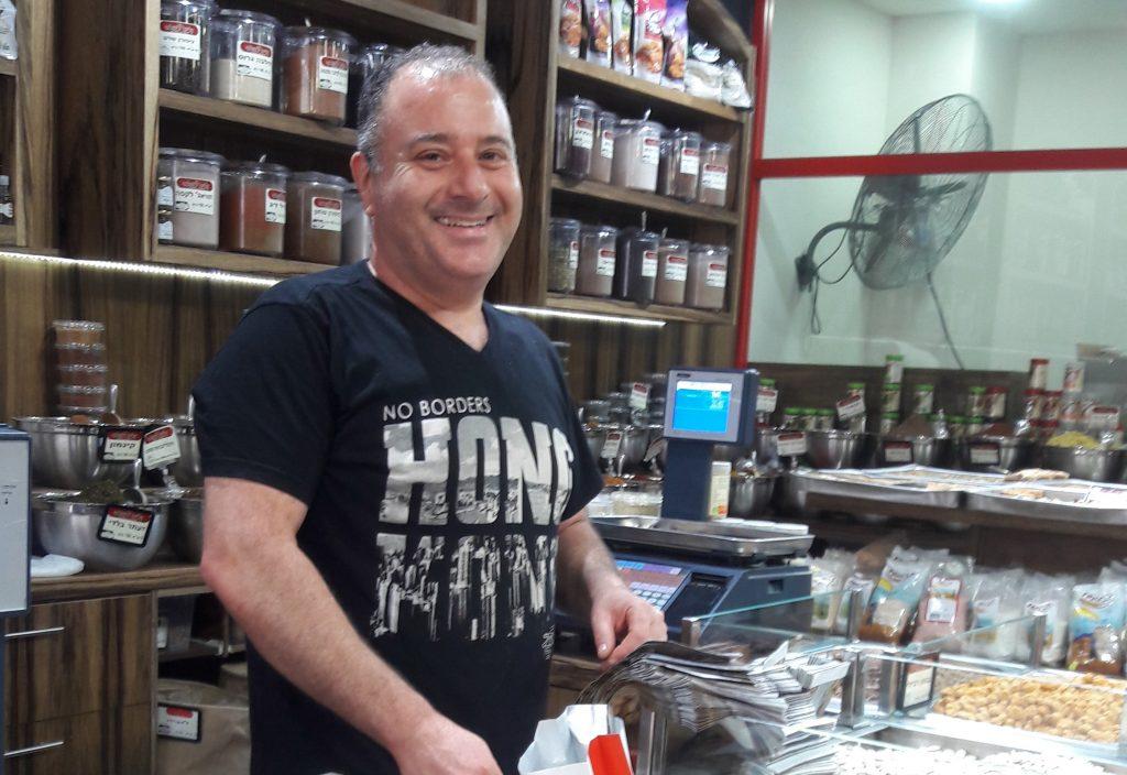 רני אתרוג מקליית ירושלמי. צילום איריס ברעם
