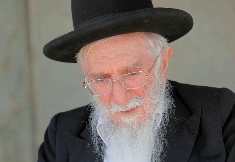 הרב אברהם שלוש. צילום אליהו הרשקוביץ