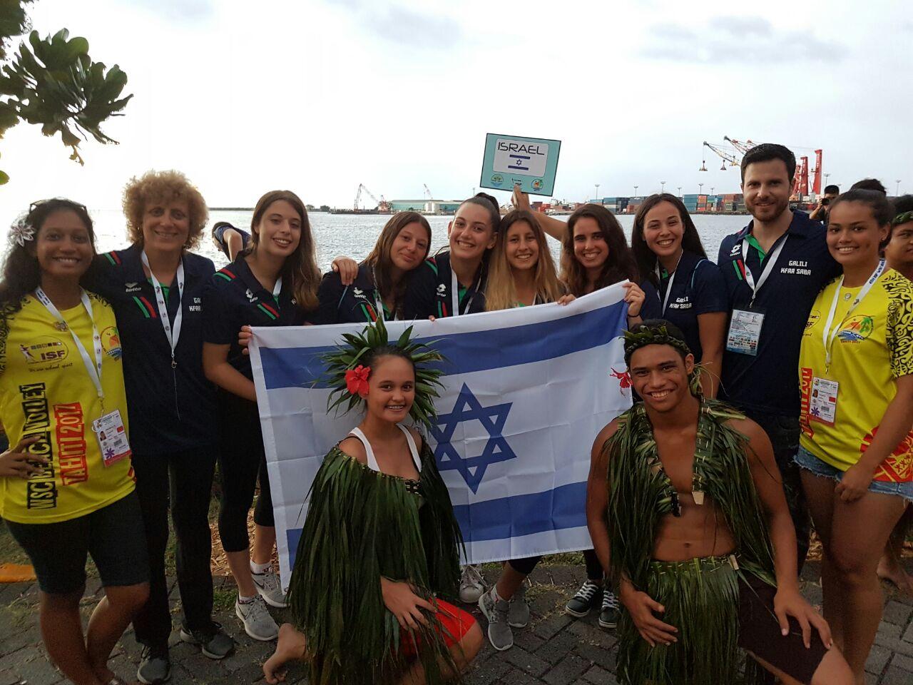 נבחרות גלילי כפר סבא באליפות העולם הכדורעף חופים בטהיטי