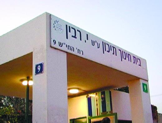 תיכון רבין בכפר סבא. צילום באדיבות בית הספר