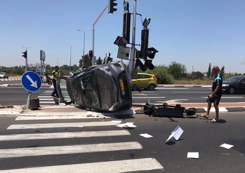 התאונה בצומת אלישמע