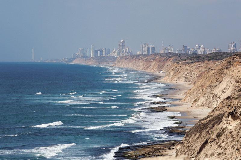 נוף ים. צילום:עזרא לוי