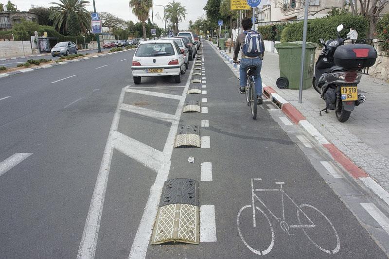 שביל אופניים. צילום: אורן זיו
