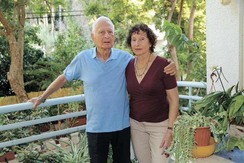 אורי וחני בית אור. צילום עזרא לוי