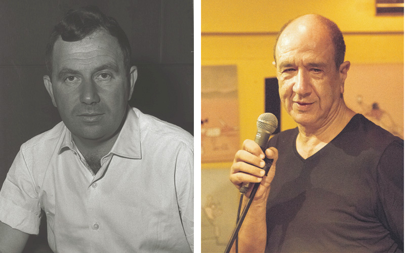 רוני סומק ויהודה עמיחי. צילומים ניר קידר, פריץ כהן