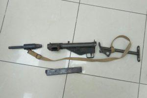 רובה הסטן. צילום משטרת ישראל
