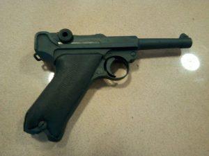 אקדח הפרבלום. צילום משטרת ישראל