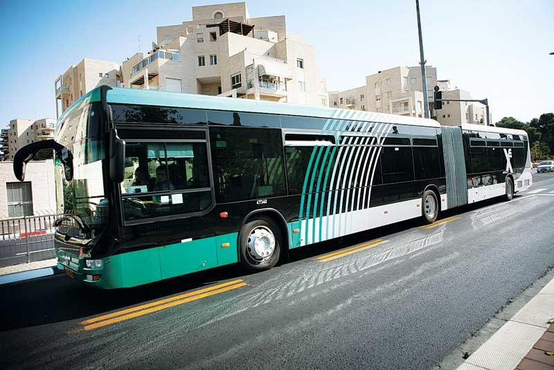 אוטובוס אגד. צילום מיכל פתאל