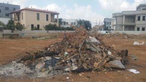 אתר פסולת בג'לג'וליה. צילום יניב בלייכר