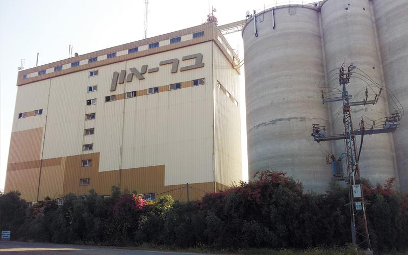 מפעל בראון. צילום עזרא לוי
