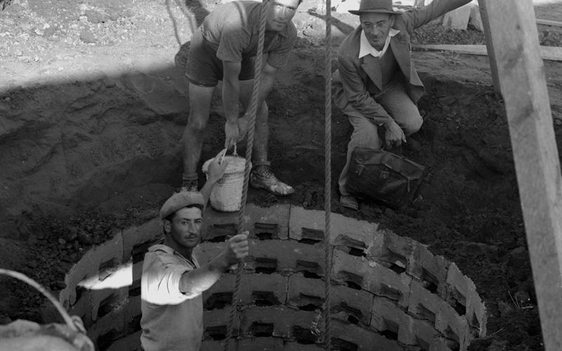 הבאר הראשונה בכפר סבא. צילום דניאל קפלן
