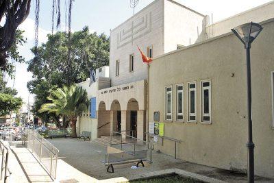 בית הכנסת הגדול ברעננה. צילום עזרא לוי