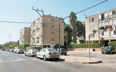 שכונת יד התשעה הרצליה. צילום עזרא לוי