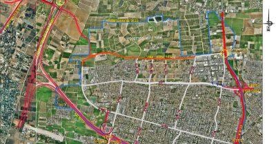 תוכנית הכבישים של רעננה. באדיבות עיריית רעננה