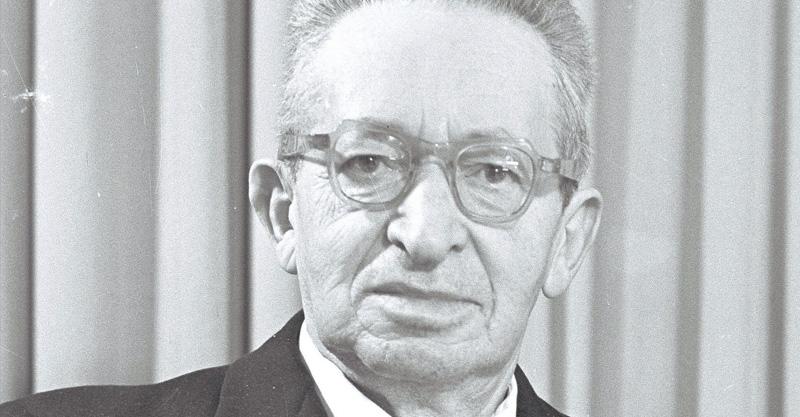 יצחק בן צבי צילום פריץ כהן