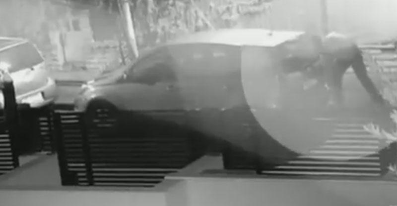 חשוד מנקב צמיגי רכב