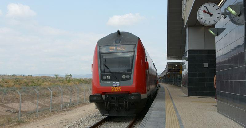 רכבת ישראל. צילום גיל אליהו