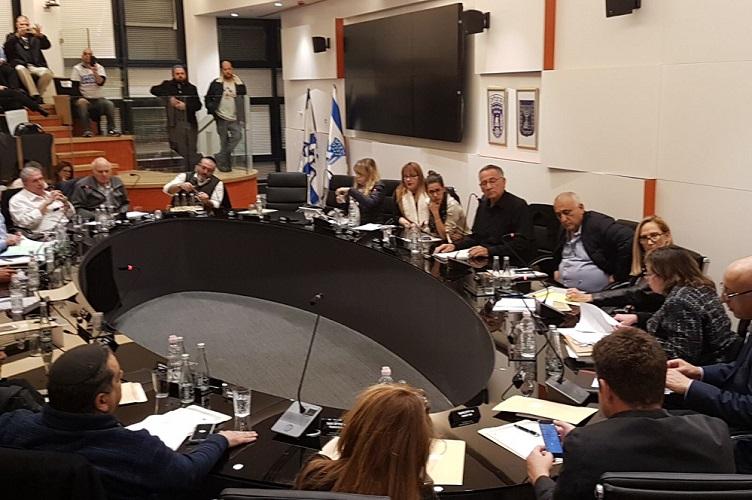 ישיבת מועצת העיר. צילום: עיריית הרצליה