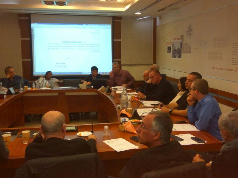 ישיבת המועצה אתמול. צילום משמר המועצה
