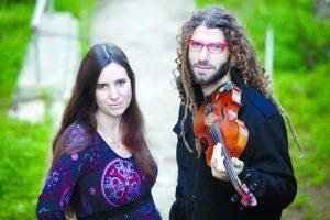 שמרית ומיכאל גריילסאמר. צילום אמיל סלמן