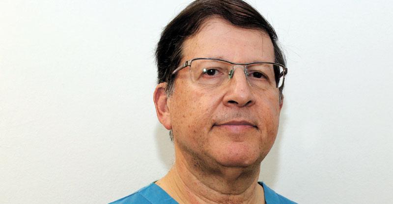 """ד""""ר שמואל ארנון. צילום ענת לובלינג קפנר"""