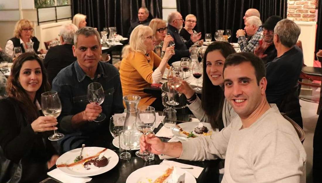 ערב טעימות היין ברוביס. צילום דוד ראובן