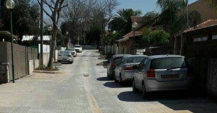 רחוב ברדיצ'ב בשכונת עלייה בכפר סבא