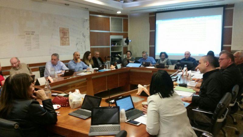 ישיבת המועצה אתמול. צילום אריה אברמזון