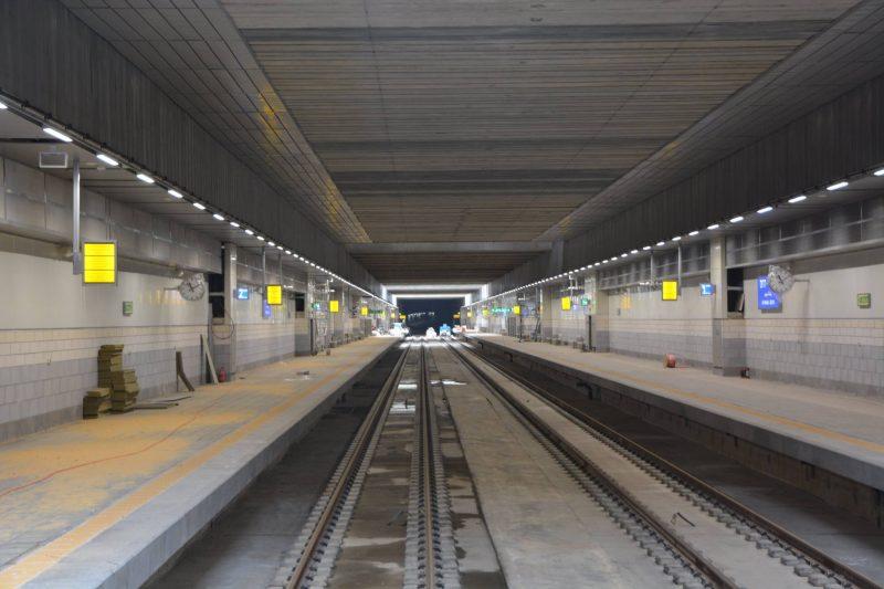 תחנת הרכבת רעננה דרום. צילום Shinaimm