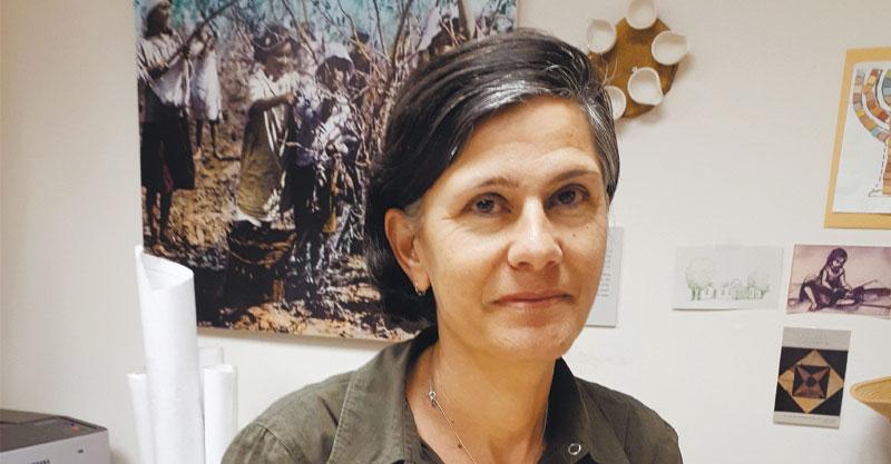 ירדנה ויזנברג מנהלת מוזיאון כפר סבא צילום עיריית כפר סבא