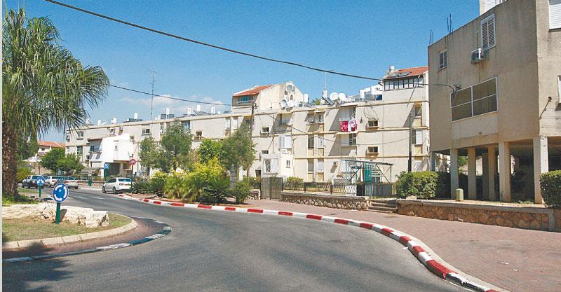 שכונת יוספטל, כפר סבא. צילום עזרא לוי