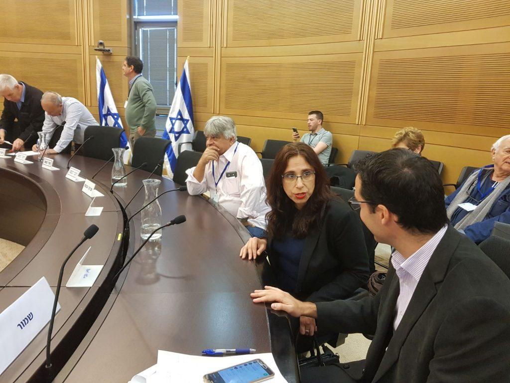 מירית שקד ברק בדיון בוועדת הפנים של הכנסת