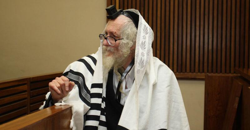 הרב אליעזר ברלנד צילום Ilan Ossendryver