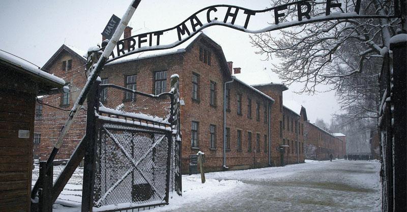 אושוויץ צילום AFP