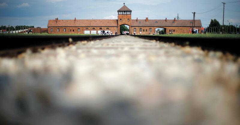 מחנה אושוויץ בירקנאו צילום AP