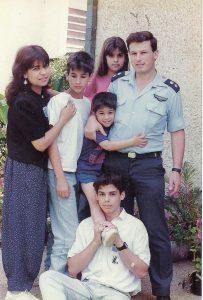 אילנה יהב ומשפחתה צילום תמר שחם