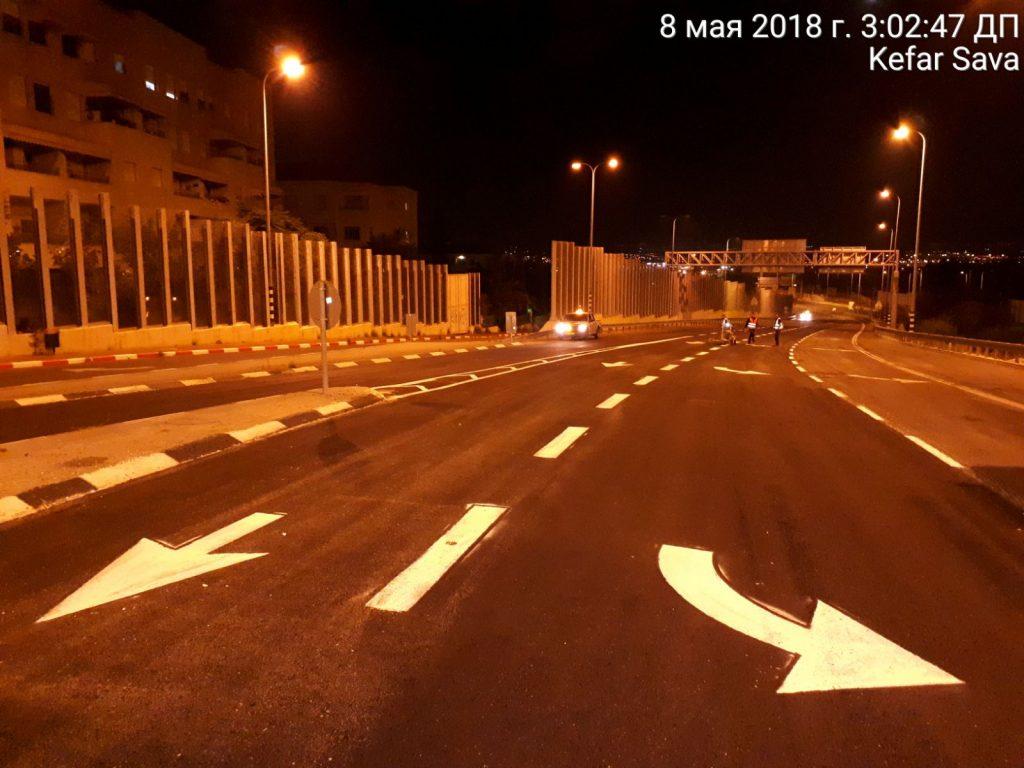 העלייה מכביש 531 לתל חי. צילום נתיבי ישראל