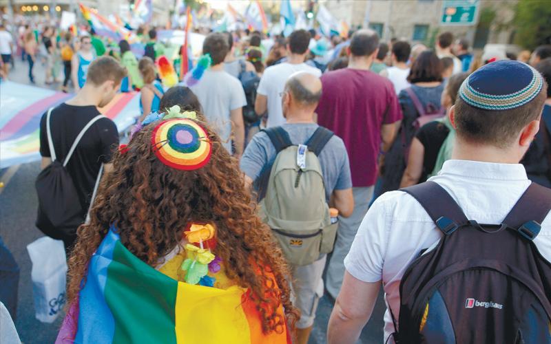 מצעד הגאווה בירושלים. צילום גיל כהן מגן