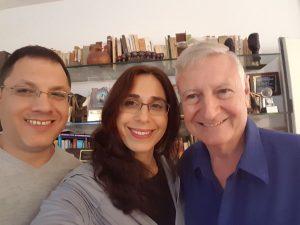 פרופ' ארנסטו קאהן, מירית שקד-ברק ואיציק מנהיימר