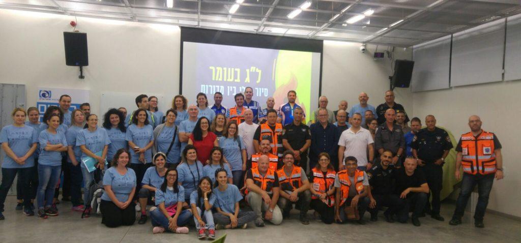 """אנשי העירייה והמתנדבים בל""""ג בעומר"""