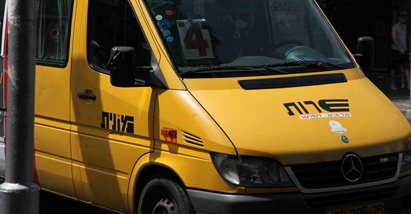 מונית שירות צילום אביעד הרמן