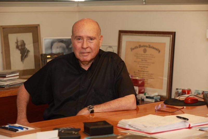 """ד""""ר אמיר גבע. צילום עזרא לוי"""