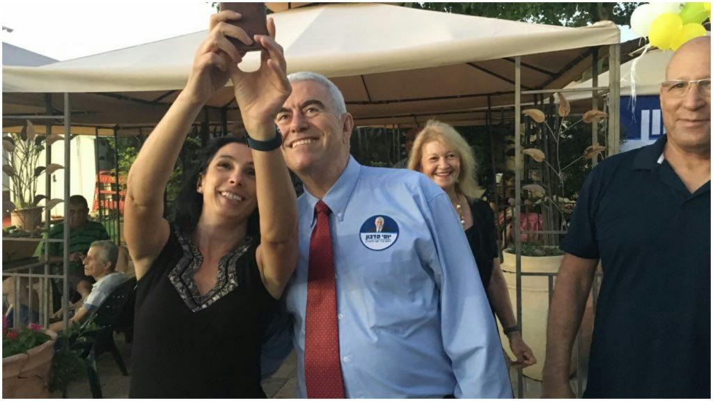 """יוסי סדבון באירוע השקת הקמפיין. צילום יח""""צ"""
