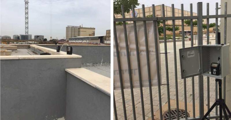 שער הכניסה וגג בית הספר לאה גולדברג, מתוך הדוח