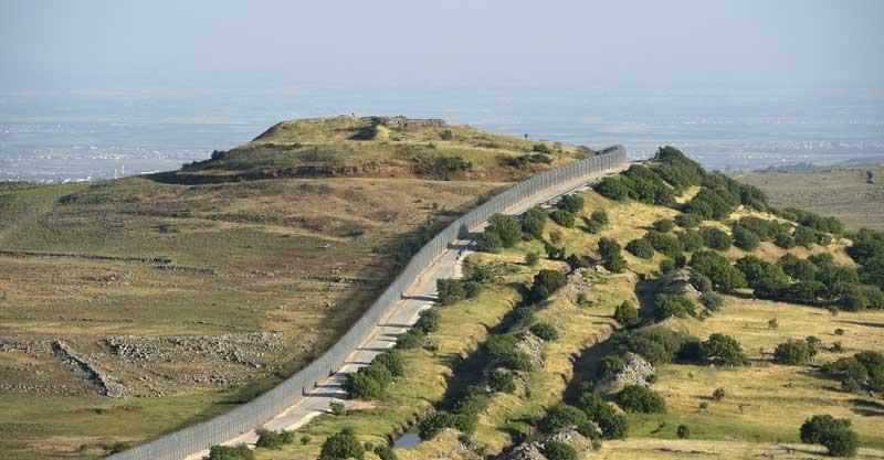 גבול סוריה ישראל צילום גיל אליהו
