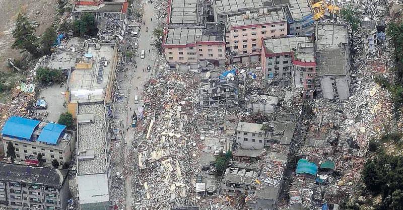 רעידת האדמה בסצ'ואן 2008צילום רויטרס
