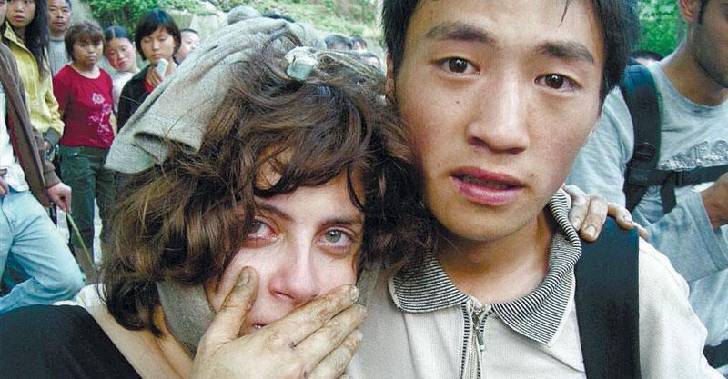 החילוץ של מעיין סבג חטואל צילום אלירן דובז'ינסקי