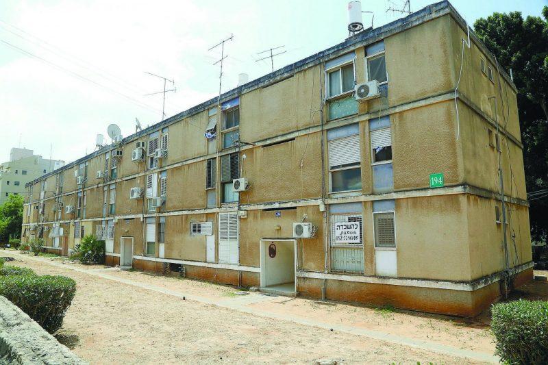 שכונת תקומה בכפר סבא. צילום עזרא לוי